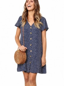 c82a94962b8 Купить платье в горошек недорого наложенным платежом в Интернет ...