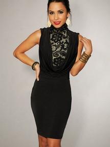 Винтажное платье большого размера