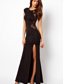 Платье длинное обтягивающее летнее