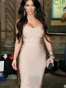 Бандажное платье на большой размер