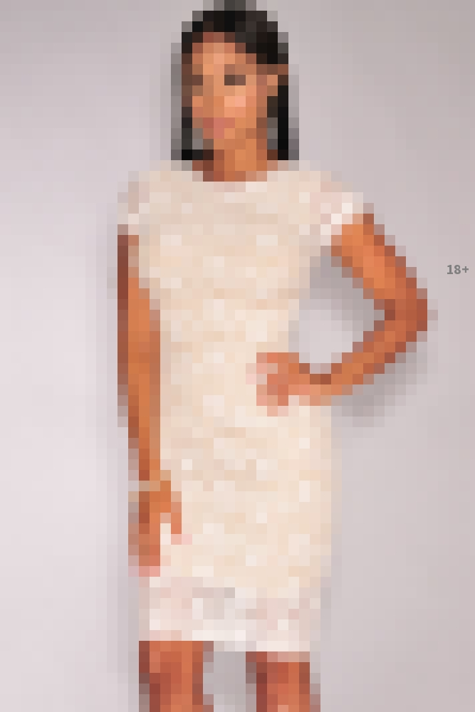 Белое кружевное платье с доставкой